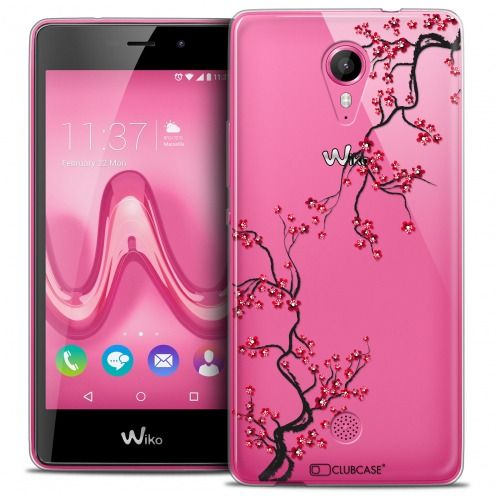 Coque Crystal Gel Wiko Tommy Extra Fine Summer - Sakura