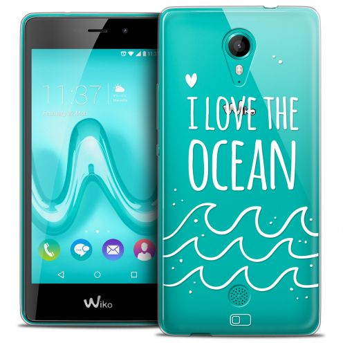 Coque Crystal Gel Wiko Tommy Extra Fine Summer - I Love Ocean