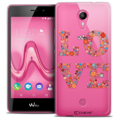 Coque Crystal Gel Wiko Tommy Extra Fine Summer - Love Flowers