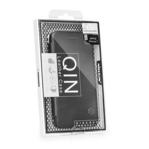 "Nillkin Qin Leather Coque iPhone XR - 6.1"" Noir"