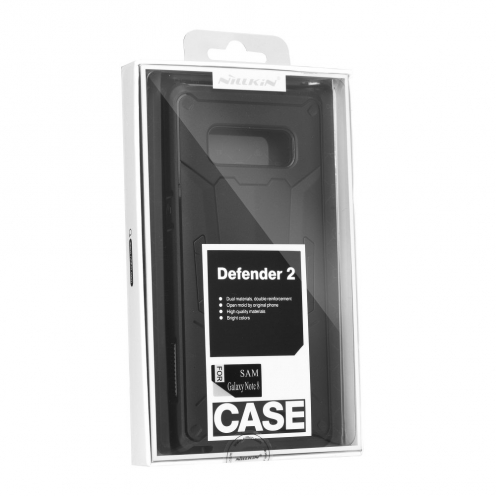 Nillkin Defender CASE II Coque Pour iPhone XS Max Noir
