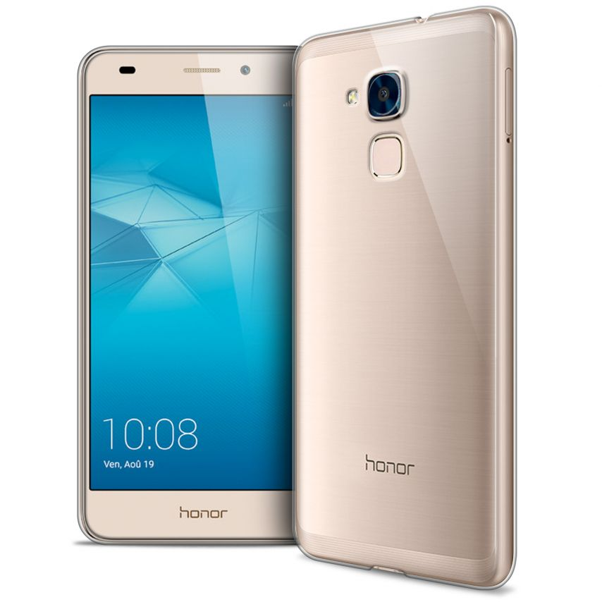 Coque Huawei Honor 5C Extra Fine Souple Gel Crystal Clear