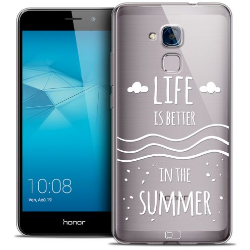 Coque Crystal Gel Huawei Honor 5C Extra Fine Summer - Life's Better
