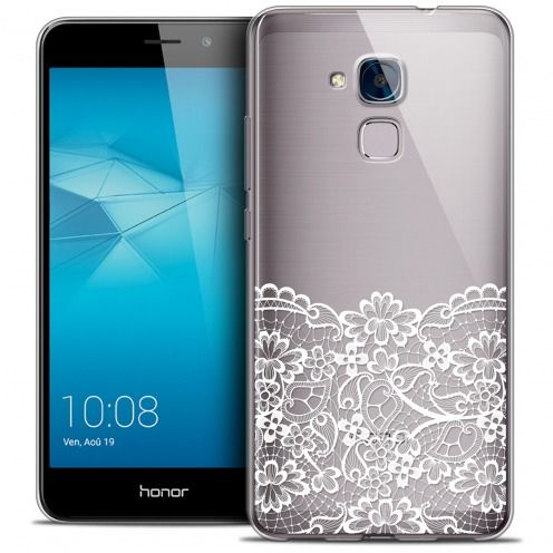 Coque Crystal Gel Huawei Honor 5C Extra Fine Spring - Bas dentelle