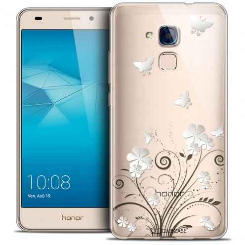 Coque Crystal Gel Huawei Honor 5C Extra Fine Summer - Papillons