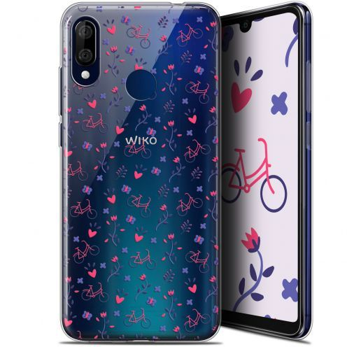 """Coque Gel Wiko View 3 LITE (6.09"""") Extra Fine Love - Bicycle"""