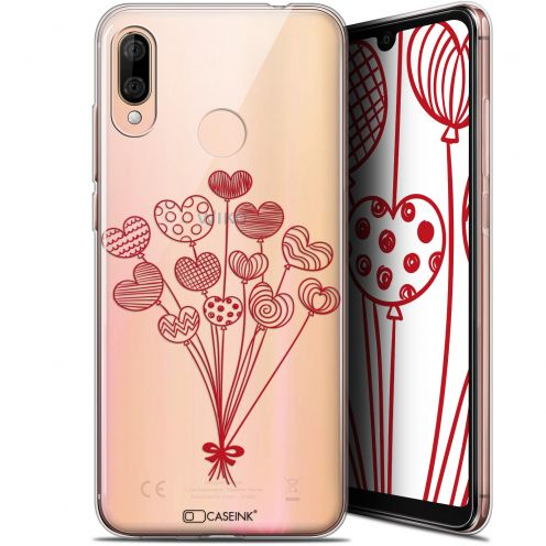 """Coque Gel Wiko View 3 LITE (6.09"""") Extra Fine Love - Ballons d'amour"""