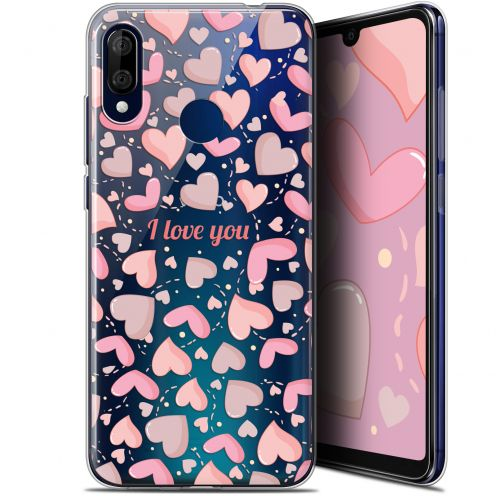 """Coque Gel Wiko View 3 LITE (6.09"""") Extra Fine Love - I Love You"""