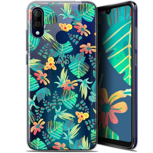 "Coque Gel Wiko View 3 LITE (6.09"") Extra Fine Spring - Tropical"