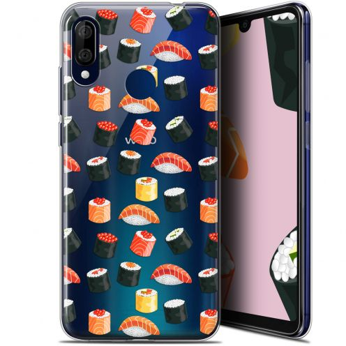 """Coque Gel Wiko View 3 LITE (6.09"""") Extra Fine Foodie - Sushi"""