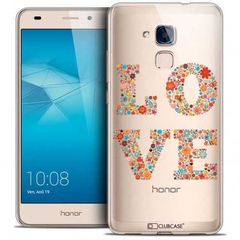 Coque Crystal Gel Huawei Honor 5C Extra Fine Summer - Love Flowers