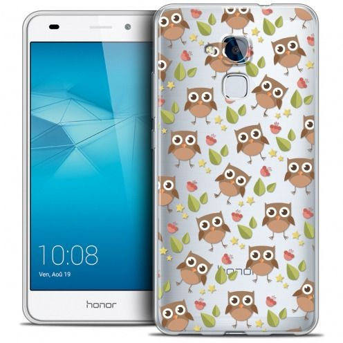 Coque Crystal Gel Huawei Honor 5C Extra Fine Summer - Hibou