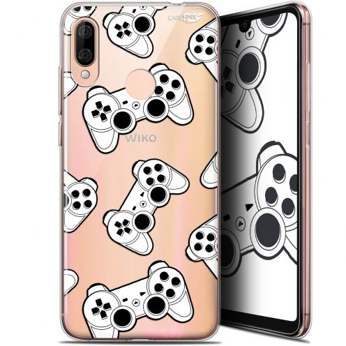 "Coque Gel Wiko View 3 LITE (6.09"") Extra Fine Motif - Game Play Joysticks"
