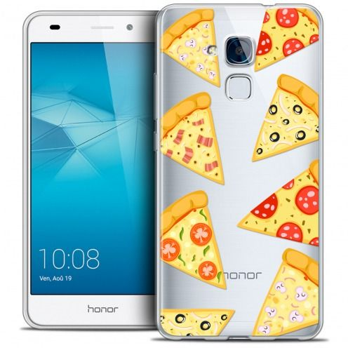 Coque Crystal Gel Huawei Honor 5C Extra Fine Foodie - Pizza