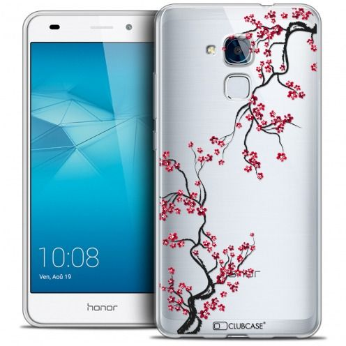 Coque Crystal Gel Huawei Honor 5C Extra Fine Summer - Sakura
