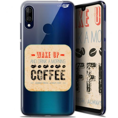 "Coque Gel Wiko View 3 LITE (6.09"") Extra Fine Motif - Wake Up With Coffee"