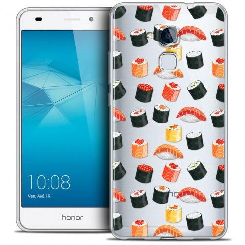 Coque Crystal Gel Huawei Honor 5C Extra Fine Foodie - Sushi