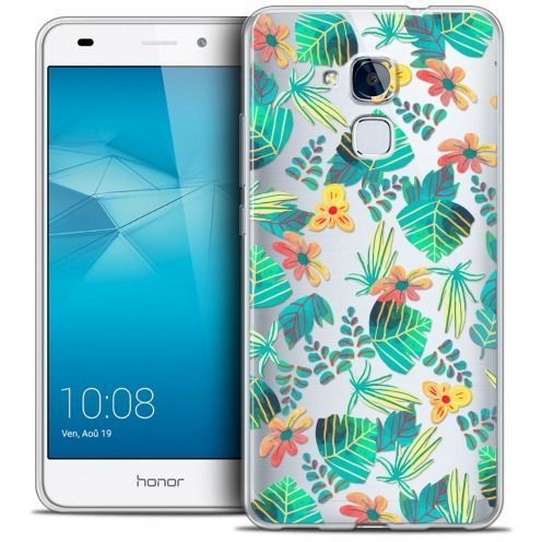 Coque Crystal Gel Huawei Honor 5C Extra Fine Spring - Tropical