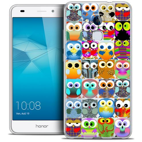 Coque Crystal Gel Huawei Honor 5C Extra Fine Claude - Hibous