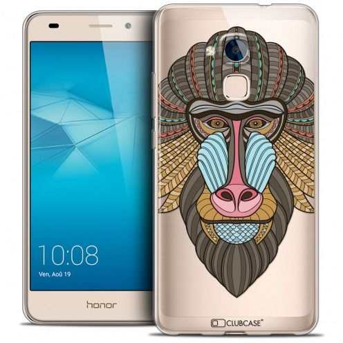 Coque Crystal Gel Huawei Honor 5C Extra Fine Summer - Babouin