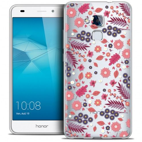Coque Crystal Gel Huawei Honor 5C Extra Fine Spring - Floraison