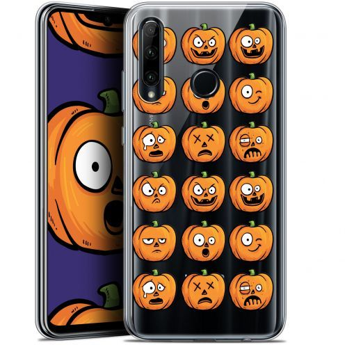 "Coque Gel Huawei Honor 20 LITE (6.2"") Extra Fine Halloween - Cartoon Citrouille"