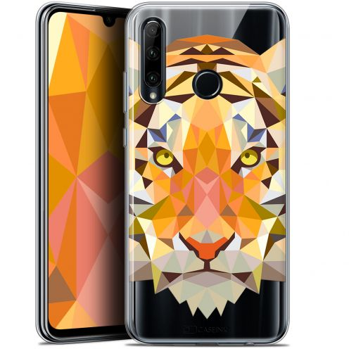 "Coque Gel Huawei Honor 20 LITE (6.2"") Extra Fine Polygon Animals - Tigre"