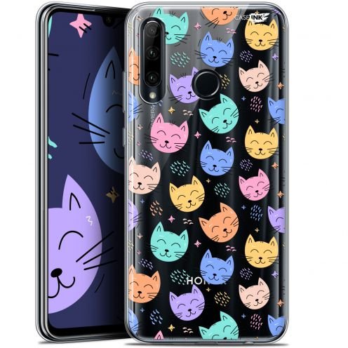 """Coque Gel Huawei Honor 20 LITE (6.2"""") Extra Fine Motif - Chat Dormant"""