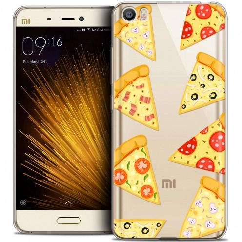 Coque Crystal Gel Xiaomi Mi 5 Extra Fine Foodie - Pizza