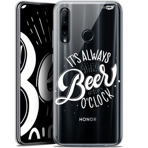 "Coque Gel Huawei Honor 20 LITE (6.2"") Extra Fine Motif - Its Beer O'Clock"