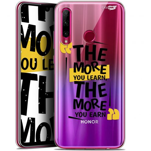 """Coque Gel Huawei Honor 20 LITE (6.2"""") Extra Fine Motif - The More You Learn"""