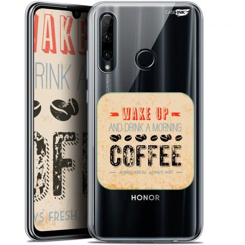 "Coque Gel Huawei Honor 20 LITE (6.2"") Extra Fine Motif - Wake Up With Coffee"