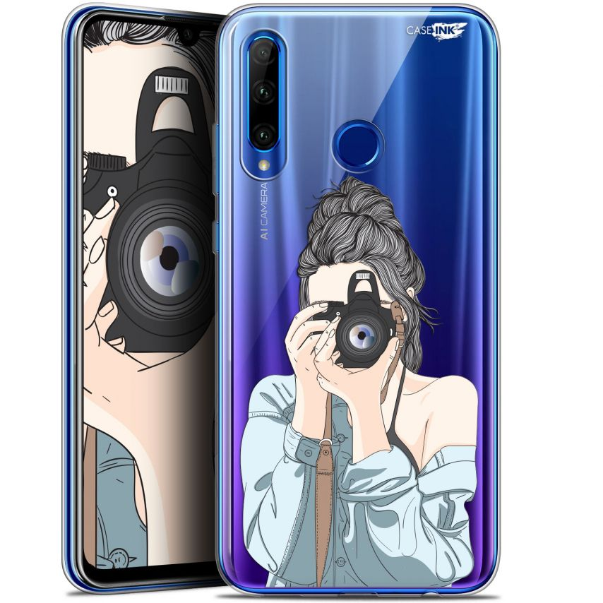"Coque Gel Huawei Honor 20 LITE (6.2"") Extra Fine Motif - La Photographe"