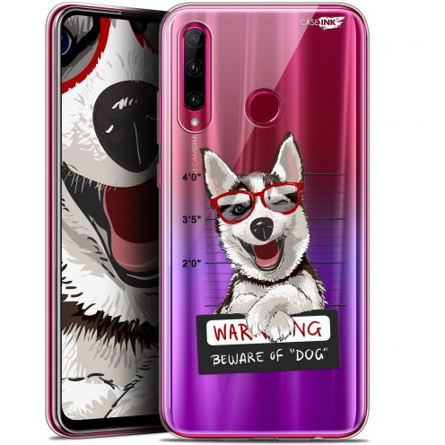 "Coque Gel Huawei Honor 20 LITE (6.2"") Extra Fine Motif - Beware The Husky Dog"