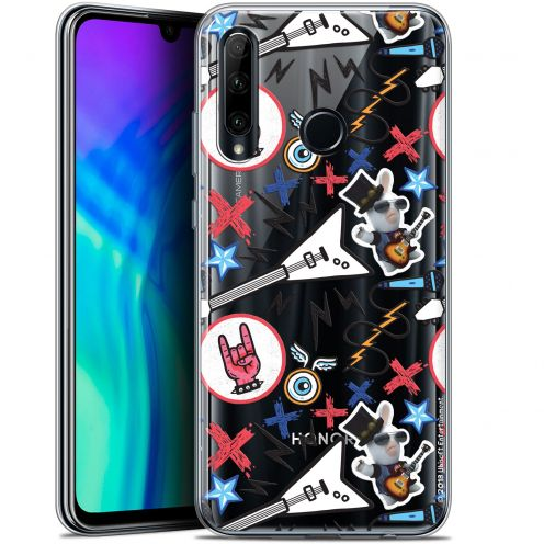 "Coque Gel Huawei Honor 20 LITE (6.2"") Extra Fine Lapins Crétins™ - Rock Pattern"