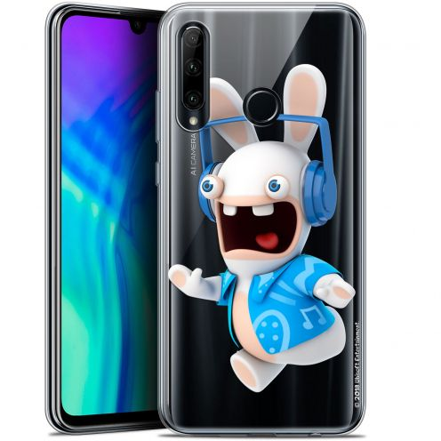 """Coque Gel Huawei Honor 20 LITE (6.2"""") Extra Fine Lapins Crétins™ - Techno Lapin"""