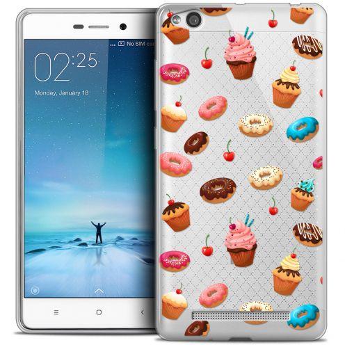 Coque Crystal Gel Xiaomi Redmi 3 Extra Fine Foodie - Donuts