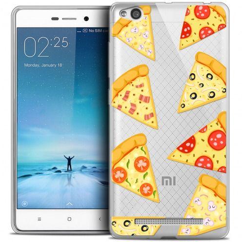 Coque Crystal Gel Xiaomi Redmi 3 Extra Fine Foodie - Pizza