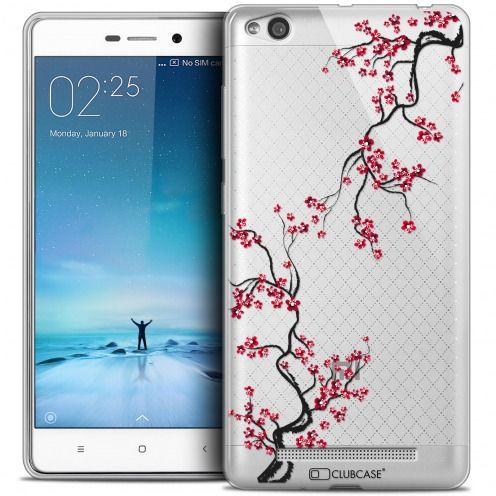 Coque Crystal Gel Xiaomi Redmi 3 Extra Fine Summer - Sakura