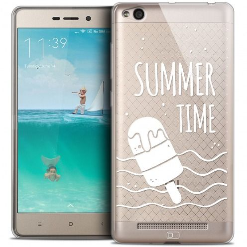 Coque Crystal Gel Xiaomi Redmi 3 Extra Fine Summer - Summer Time