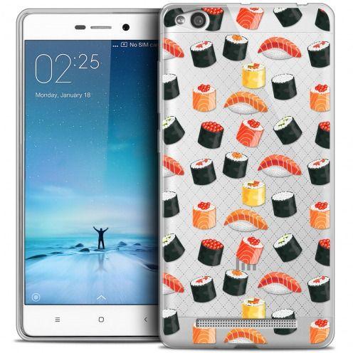 Coque Crystal Gel Xiaomi Redmi 3 Extra Fine Foodie - Sushi