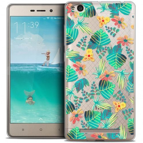 Coque Crystal Gel Xiaomi Redmi 3 Extra Fine Spring - Tropical