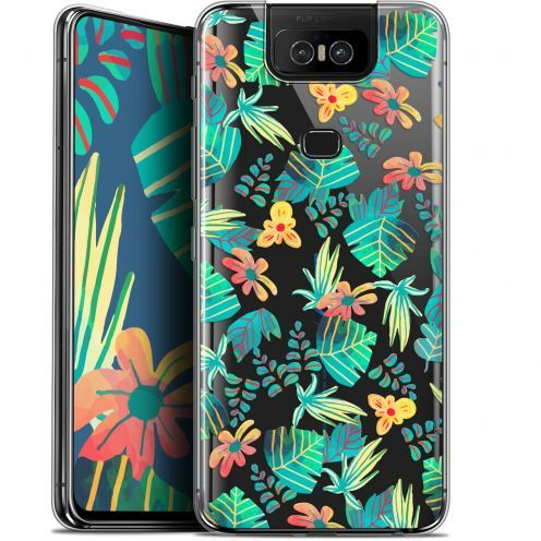 "Coque Gel Asus Zenfone 6 ZS630KL (6.4"") Extra Fine Spring - Tropical"