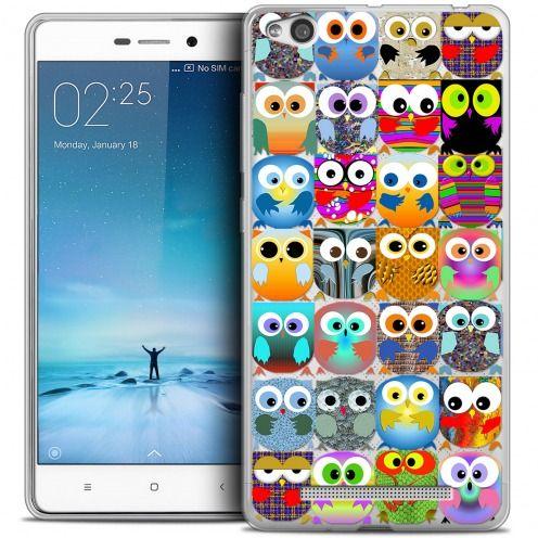 Coque Crystal Gel Xiaomi Redmi 3 Extra Fine Claude - Hibous