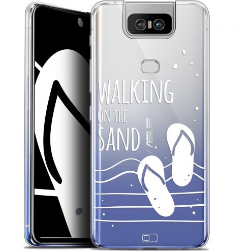 "Coque Gel Asus Zenfone 6 ZS630KL (6.4"") Extra Fine Summer - Walking on the Sand"