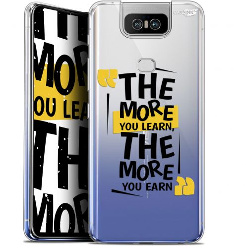 """Coque Gel Asus Zenfone 6 ZS630KL (6.4"""") Extra Fine Motif - The More You Learn"""