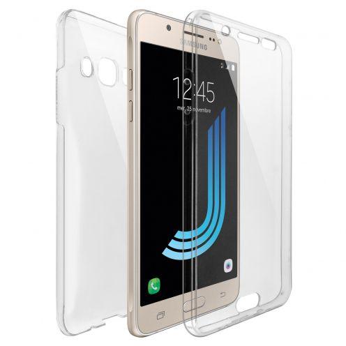 Coque Samsung Galaxy J5 2016 (J510) Intégrale Gel Defense 360° transparente