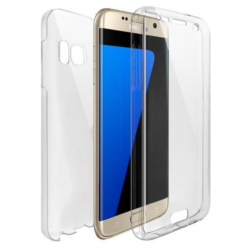 Coque Samsung Galaxy S7 Edge (G935) Intégrale Gel Defense 360° transparente