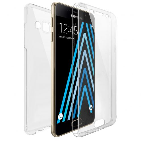 Coque Samsung Galaxy A3 2016 (A310) Intégrale Gel Defense 360° transparente