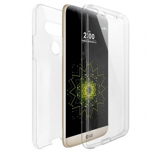 Coque LG G5 Intégrale Gel Defense 360° transparente